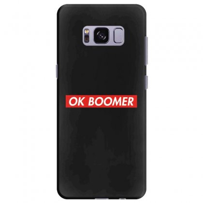 Ok Boomer   For Fun Samsung Galaxy S8 Plus Case Designed By Meganphoebe