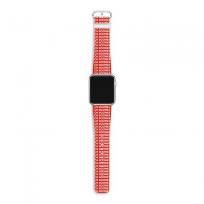 Ok Boomer   For Fun Apple Watch Band Designed By Meganphoebe