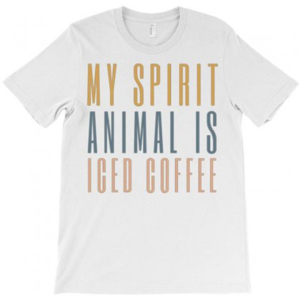 Iced Coffee T-shirt Designed By Daraart