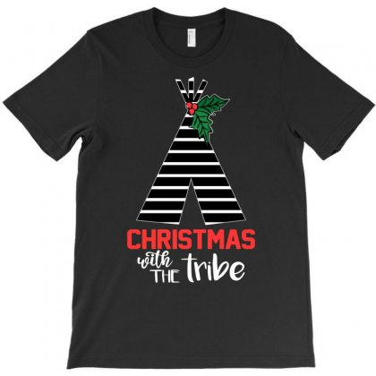 Christmas With The Tribe T-shirt Designed By Alparslan