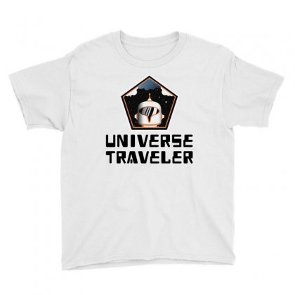 Universe Traveler Youth Tee Designed By Trending Design