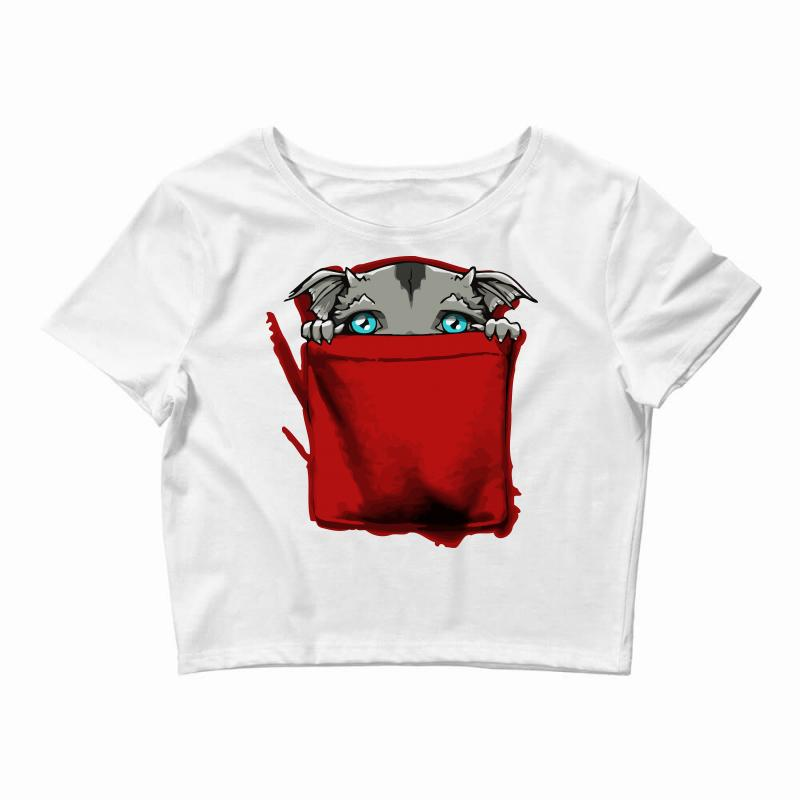 63702df8ca8d5 Custom Shy Pocket Monster Crop Top By Mdk Art - Artistshot