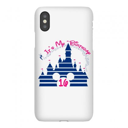 Sweet 16 Birthday Disney Castle Iphonex Case Designed By Tshirt Time