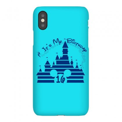 Castel Birthday 16 Blue Iphonex Case Designed By Tshirt Time