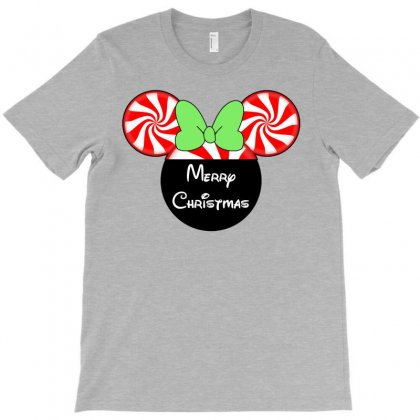 Mint Christmas Ears T-shirt Designed By Tshirt Time