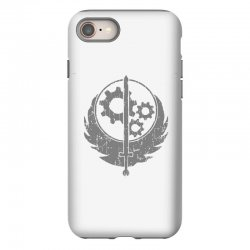 brotherhood of steel fallout 3 4 iPhone 8 Case | Artistshot