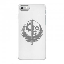 brotherhood of steel fallout 3 4 iPhone 7 Case | Artistshot