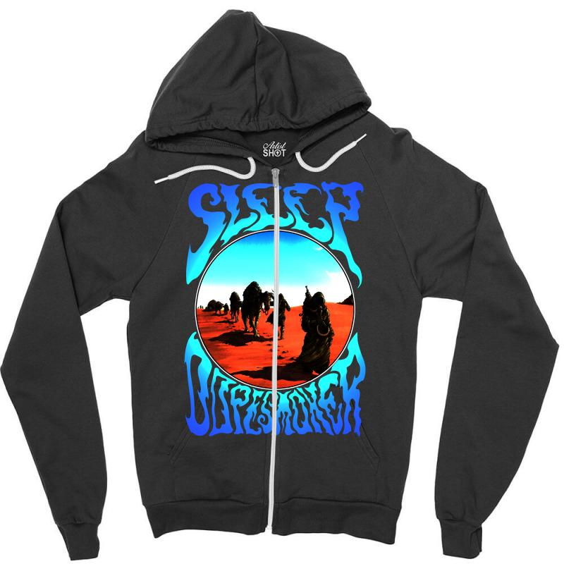 Sleep Dopesmoker Stoner Doom Zipper Hoodie  By Artistshot
