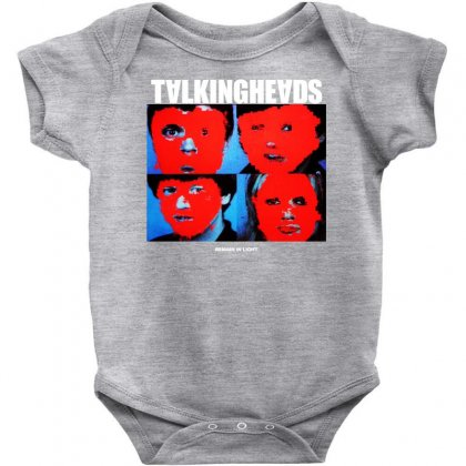 Talking Heads Wave Music Baby Bodysuit