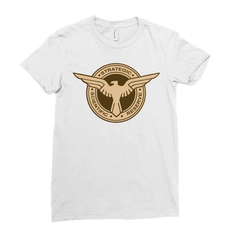 949d97447 Custom Captain America Ssr Logo Ladies Fitted T-shirt By Monstore ...
