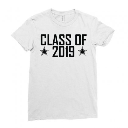 Class Of 2019 Ladies Fitted T-shirt Designed By Monstore