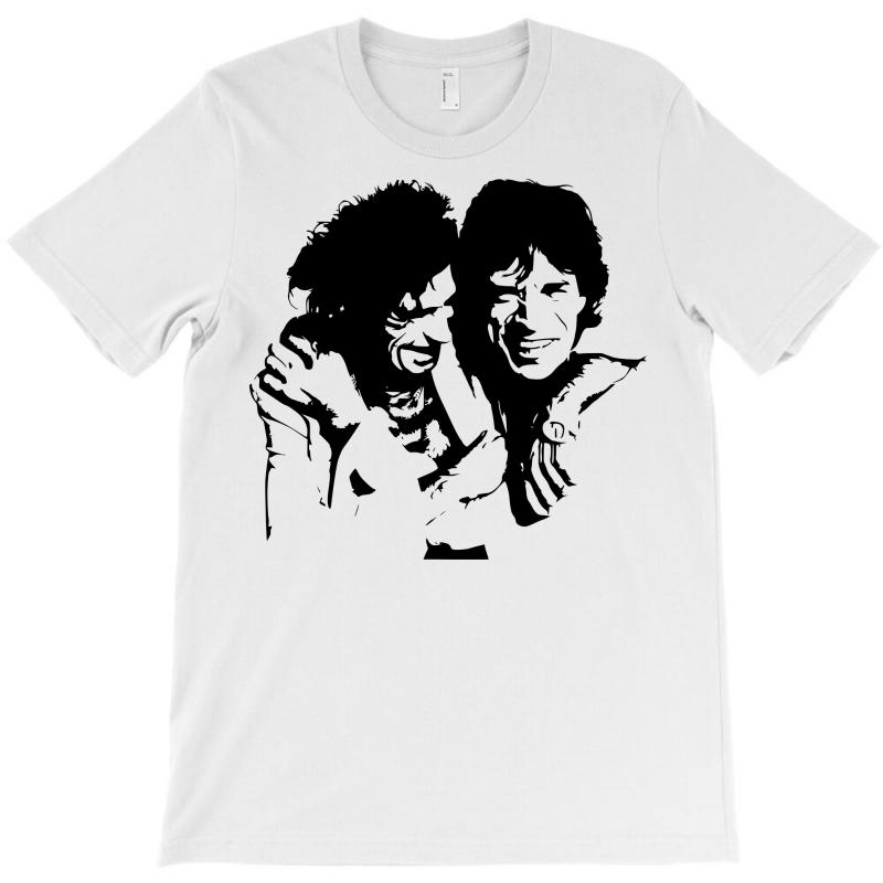 00f3b3742 Custom Mick Jagger And Keith Richards T-shirt By Sbm052017 - Artistshot