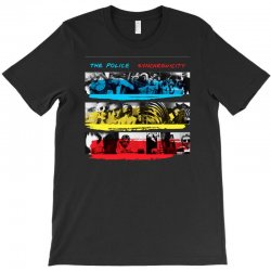 the police synchronicity rock band T-Shirt   Artistshot
