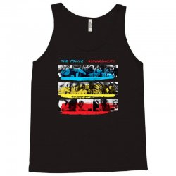 the police synchronicity rock band Tank Top   Artistshot
