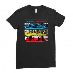 the police synchronicity rock band Ladies Fitted T-Shirt   Artistshot