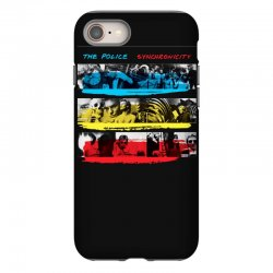 the police synchronicity rock band iPhone 8 Case   Artistshot
