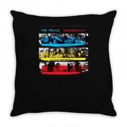 the police synchronicity rock band Throw Pillow   Artistshot
