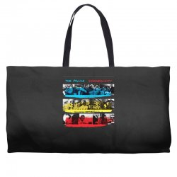 the police synchronicity rock band Weekender Totes   Artistshot