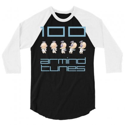 Armin Van Buuren Armind Tunes 3/4 Sleeve Shirt Designed By Mdk Art