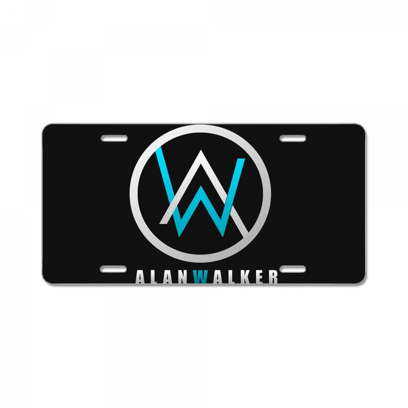 Custom alan walker logo license plate by mdk art artistshot - Alan walker logo galaxy ...