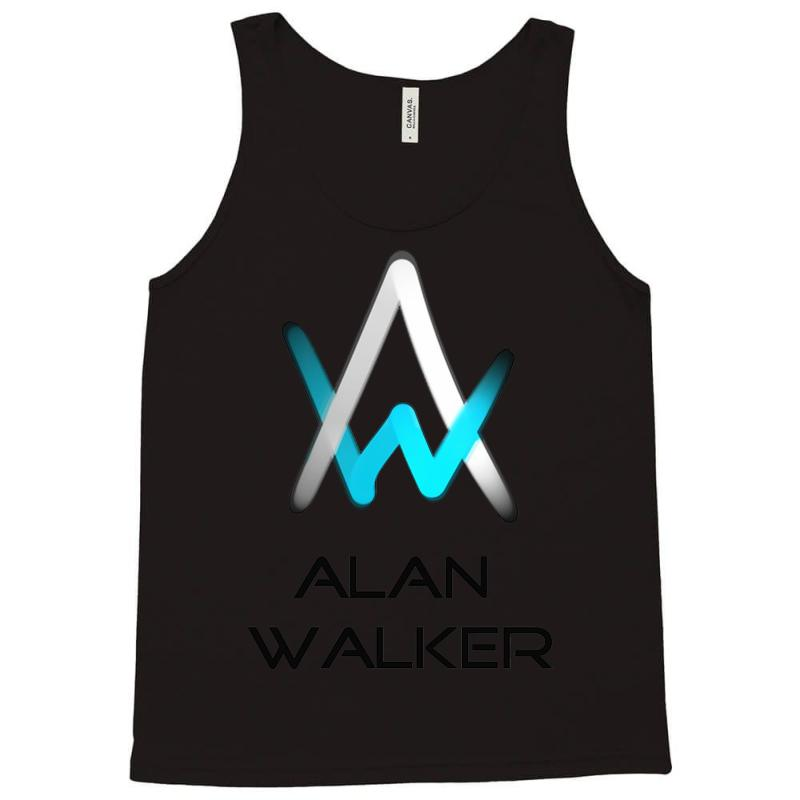 Custom alan walker logo tank top by mdk art artistshot - Alan walker logo galaxy ...