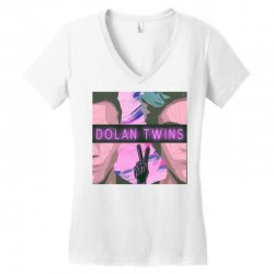 Dolan Twins Art Women's V-Neck T-Shirt | Artistshot