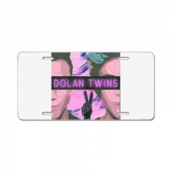 Dolan Twins Art License Plate | Artistshot