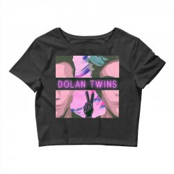 Dolan Twins Art Crop Top | Artistshot