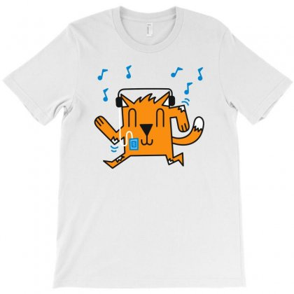 Dancing Cat T-shirt Designed By Monstore