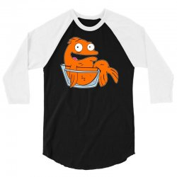 a4c9f2009 Custom Klaus The Alien Fish From American Dad 3/4 Sleeve Shirt By ...