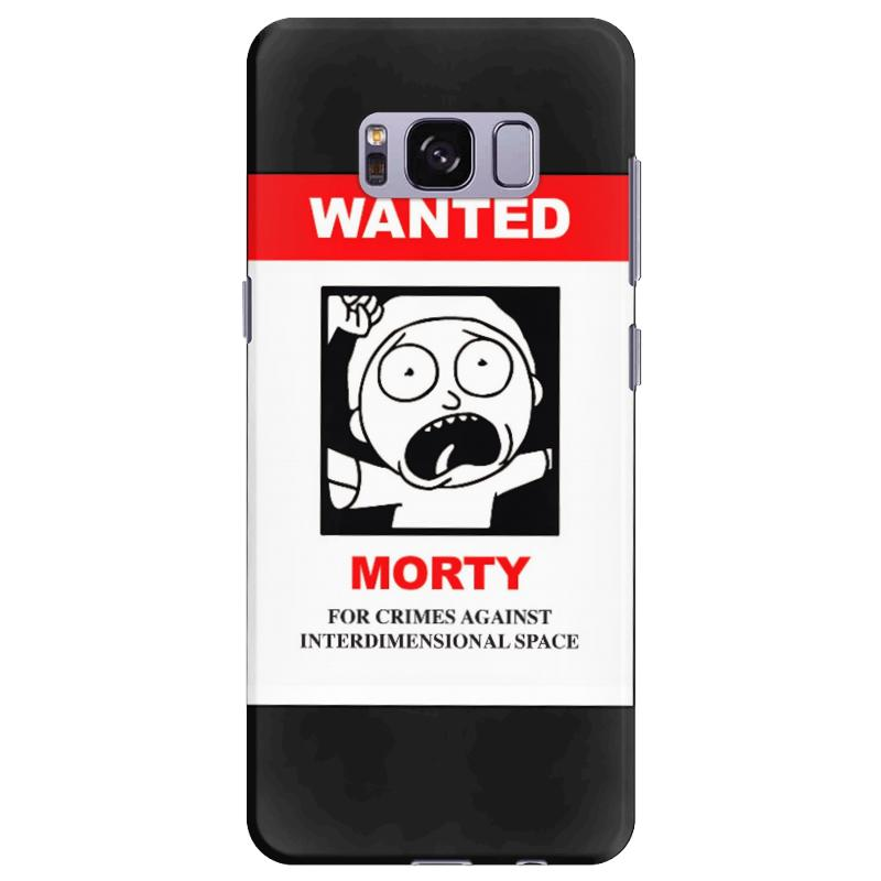 online retailer 244c3 c98c7 Rick And Morty - Morty Wanted Samsung Galaxy S8 Plus Case. By Artistshot