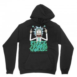 Rick and Morty Peace Among Worlds Unisex Hoodie | Artistshot