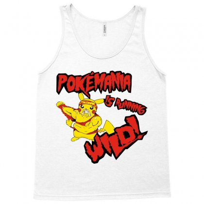 Pokemania Is Running Wild Tank Top Designed By Nurmasit1