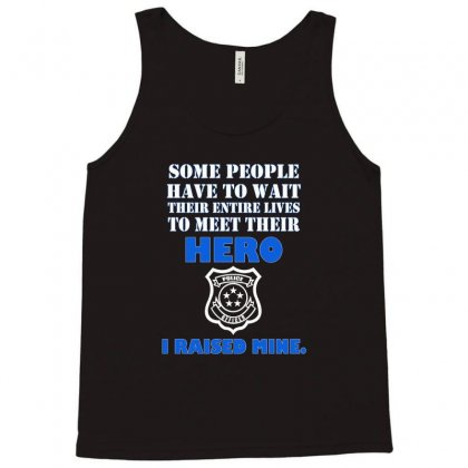 Police Officers Dad Tank Top Designed By Nurmasit1