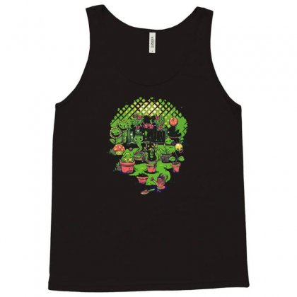 Potted Friends Tank Top Designed By Nurmasit1