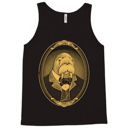 Portrait Of The Walrus As A Young Man Tank Top Designed By Nurmasit1