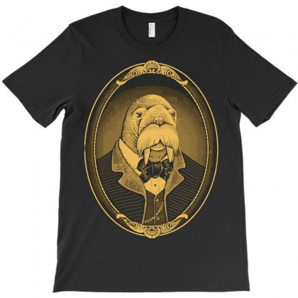 Portrait Of The Walrus As A Young Man T-shirt Designed By Nurmasit1