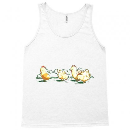Popcorn Chicken Tank Top Designed By Nurmasit1