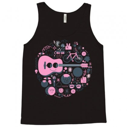Pop Heart Tank Top Designed By Nurmasit1