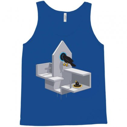 Portal Bird Tank Top Designed By Nurmasit1