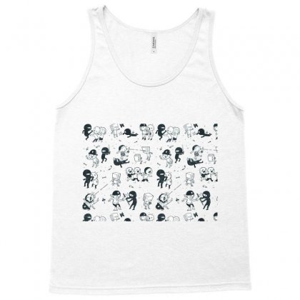 Pop Culture Clash Tank Top Designed By Nurmasit1