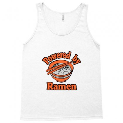 Powered By Ramen Tank Top Designed By Nurmasit1