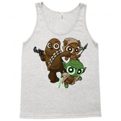 Power Critters Tank Top Designed By Nurmasit1