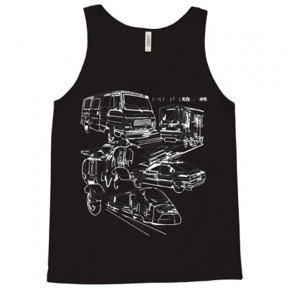 Pour Le Transport Tank Top Designed By Nurmasit1