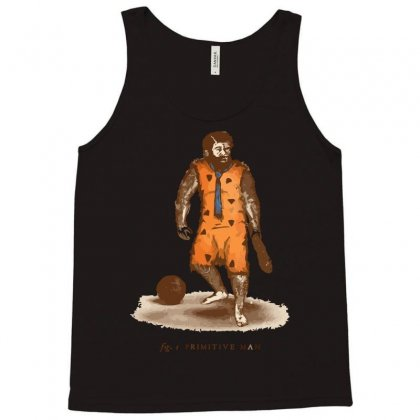 Primitive Man Tank Top Designed By Nurmasit1