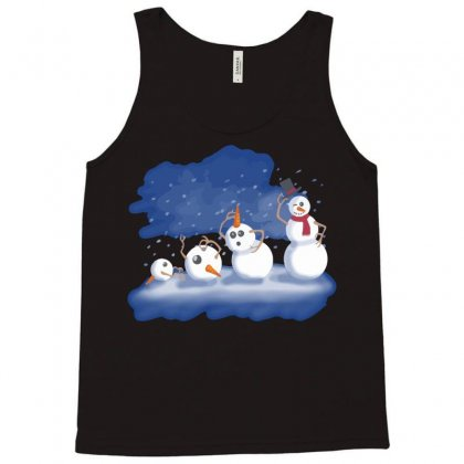 Primordial Snow Tank Top Designed By Nurmasit1