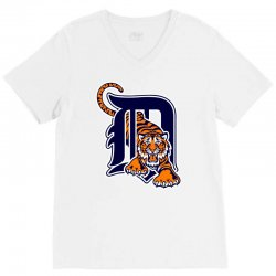 detroit tigers sports baseball V-Neck Tee | Artistshot