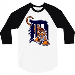 detroit tigers sports baseball 3/4 Sleeve Shirt | Artistshot