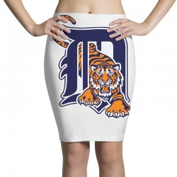 detroit tigers sports baseball Pencil Skirts | Artistshot