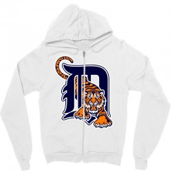 detroit tigers sports baseball Zipper Hoodie | Artistshot